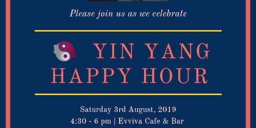 YIN YANG Happy Hour: 3rd August 2019
