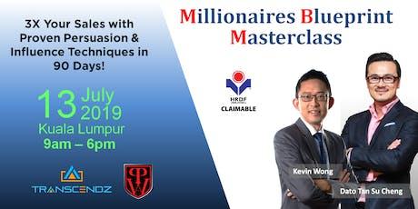 Millionaires Blueprint Masterclass tickets