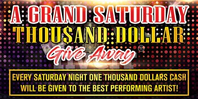 A Grand Saturday Thousand Dollar Give Away