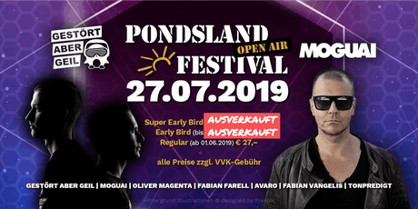 PONDSLAND FESTIVAL Tickets