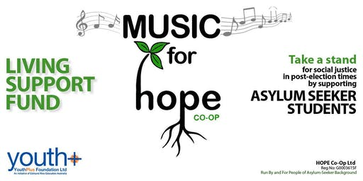 Music for HOPE - asylum-seeker student support