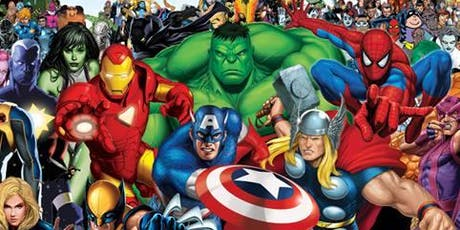 Superhero film club tickets