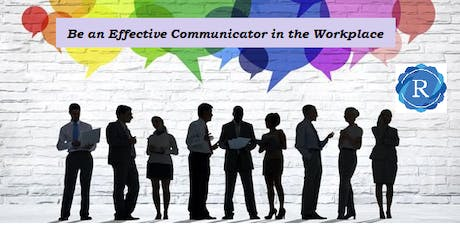 Effective Communication In The Workplace tickets