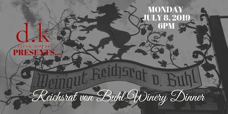 Reichsrat von Buhl Winery Dinner tickets