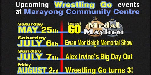 Wrestling GO: Alex Irvine's Big Day Out
