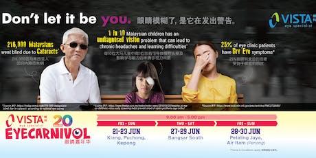 VISTA Eye Carnival - Klang tickets