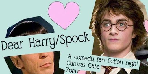 Dear Harry/Spock