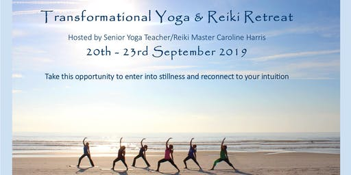 Transformational Yoga & Reiki Retreat, in Cornwall