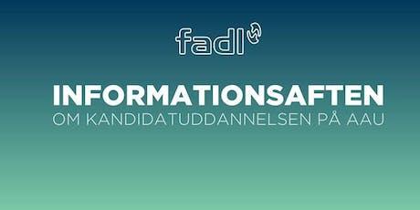 Kandidataften med FADL tickets