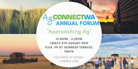 AgConnectWA Forum - Approaching Ag tickets
