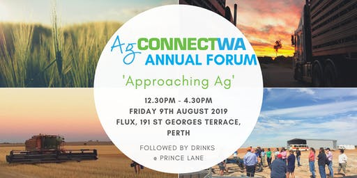 AgConnectWA Forum - Approaching Ag