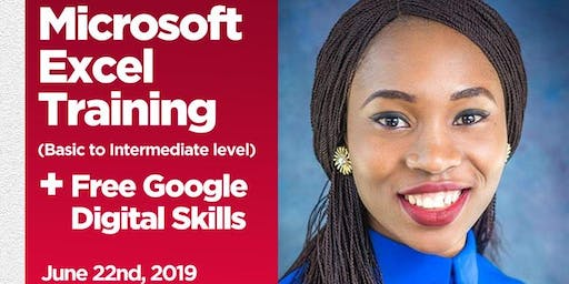Microsoft Excel training for basic to intermediate level