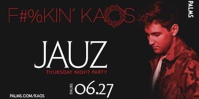 6.27 Jauz @ KAOS Nightclub Las Vegas