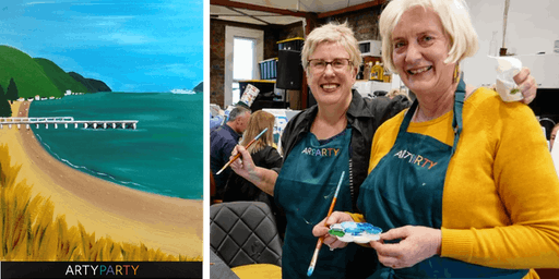 ARTYPARTY - Give Art a Go! Paint Days Bay, Eastbourne - 1st drink free!