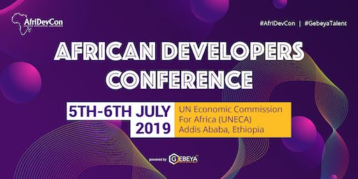 African Developers Conference #AfriDevCon