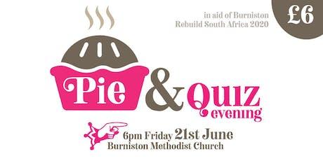 Pie & Quiz Evening - ReBuild Fundraiser tickets