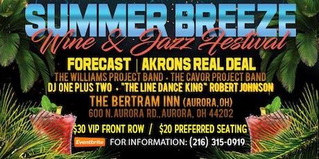 Summer Breeze Jazz & Wine Festival at The Bertram Inn & Conference Center  tickets