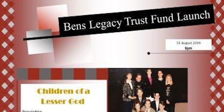 Ben's Legacy Trust Fund Launch  tickets