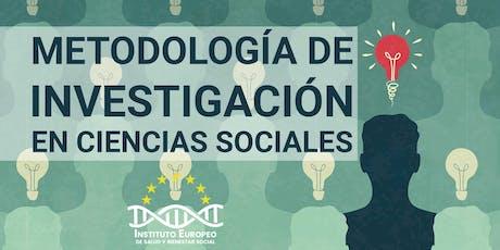 Taller de metodología de investigación en Ciencias Sociales entradas