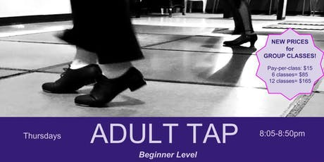 TAP - Beginner for Adults & Teens - Sundays 2pm tickets