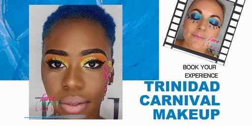 Bling Bling Makeup for Trinidad Carnival Tuesday 2020