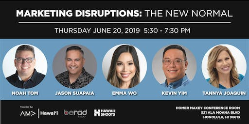 Marketing Disruptions: The New Normal