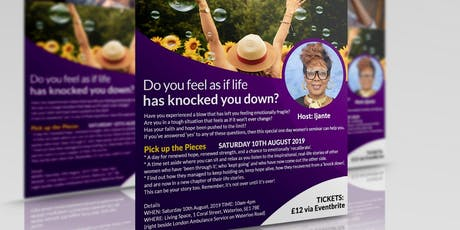 Pick Up The Pieces  (women's seminar) tickets