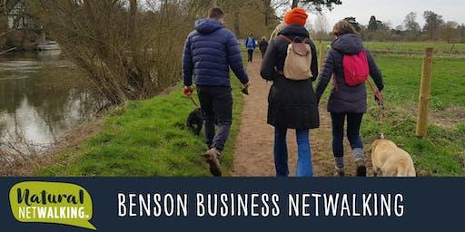 Natural Netwalking - Benson, Oxfordshire.  4th October,  9:30am -11:30am