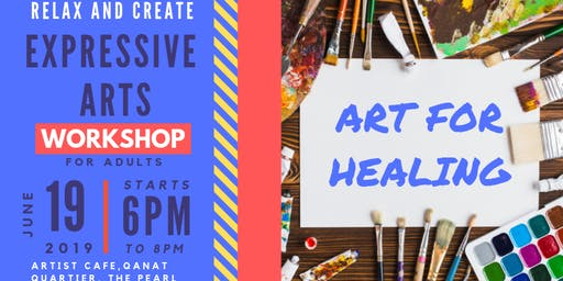 De-Stress with Art for Healing: Workshop in Expressive Arts