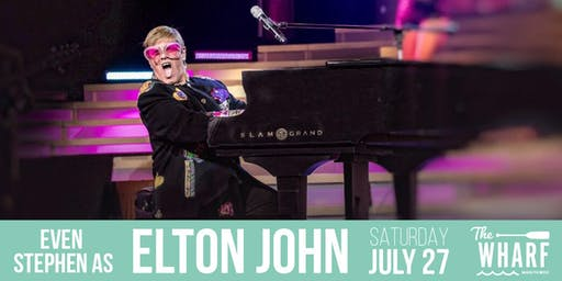 Live from Las Vegas: Even Stephen as Elton John