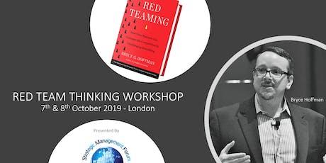 Red Team Thinking Workshop tickets