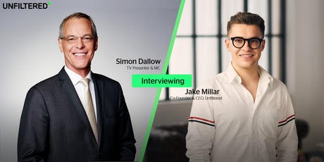 Live Interview with Jake Millar (Co-Founder & CEO, Unfiltered) tickets