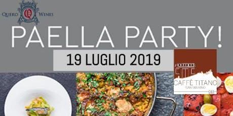 Paella Party - E...state al Caffè Titano biglietti