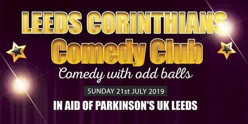 Leeds Corinthians Charity Comedy event