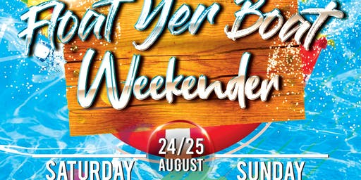 Afterwerx - Float Ya Boat - Boat Party + After Party