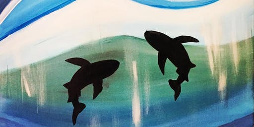 Shark Painting Party