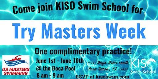 Try Masters Week