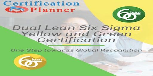 Dual Lean Six Sigma Yellow and Green Belt with CP/IASSC Exam in Cincinnati