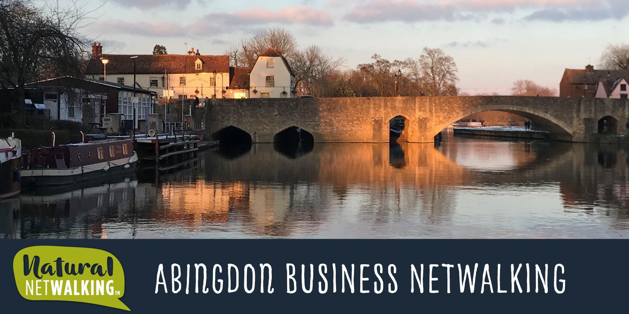 Netwalking in Abingdon Oxfordshire 22nd October 7.30am-9.30am