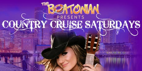 The Boatonian - Country Cruise Saturdays tickets