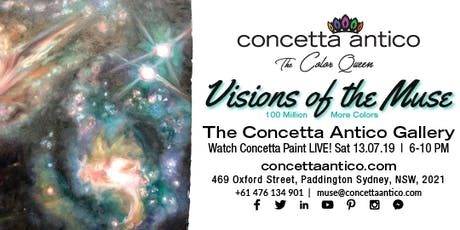 Visions of the Muse - Sydney Gallery Grand Opening tickets