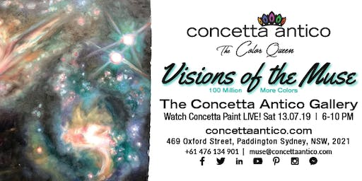 Visions of the Muse - Sydney Gallery Grand Opening