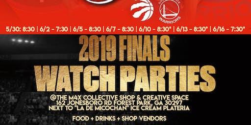 NBA Finals Watch Party | Food, Drinks, + Vendor Shop