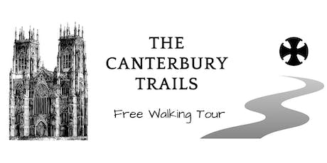 Canterbury Trails Free Walking Tour tickets