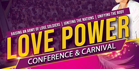LOVE POWER 2020 - Conference and Carnival tickets