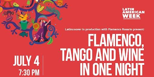 Flamenco, Tango and Wine in One Night 2019