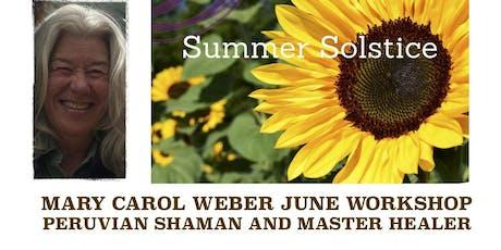 Mary Carol Weber June Workshop tickets