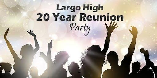 20 Year Reunion Largo High (Class of 99)