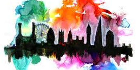 Paint London + Wine! London Bridge, Thursday 15 August tickets