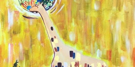 Paint like Klimt + Wine! London Bridge, Saturday 17 August tickets
